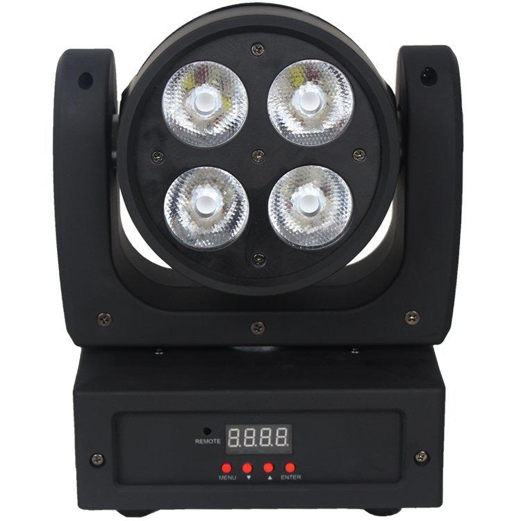 RGBW LED Moving Head Light 4PCS 10W CREE 4in1 LED Beam SL-1035