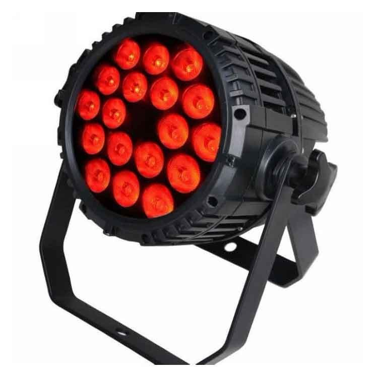 18PCS 12W RGBWA 5in1 LEDs Par Can Light for Outdoor SL-2010-5IN1