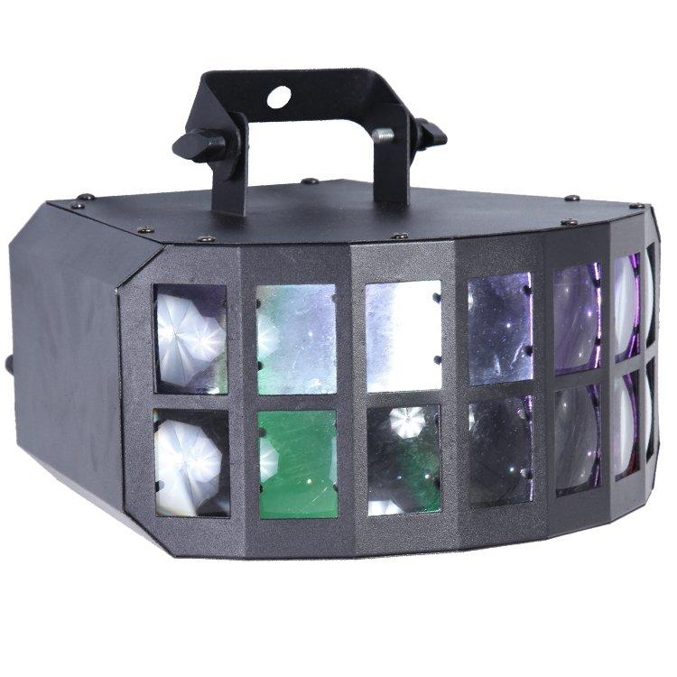 2PCS 10W Cree 4in1 LED Butterfly Stage Light SL-3026