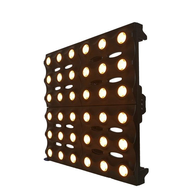 36*3W CREE XP-E 2800K amber LED Stage Matrix Light SL-3036