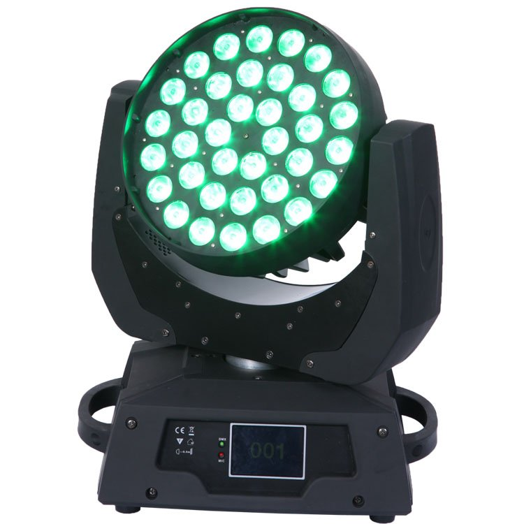 Songlites 36PCS 15W 5in1 Wash Moving Head Light SL-1006A-5in1 Wash Normal Moving Head Light image18