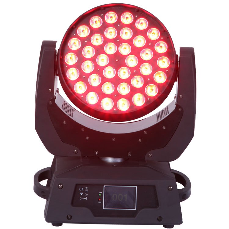 Songlites 36PCS 18W 6in1 Wash Moving Head Light SL-1006A-6in1 Wash Normal Moving Head Light image17