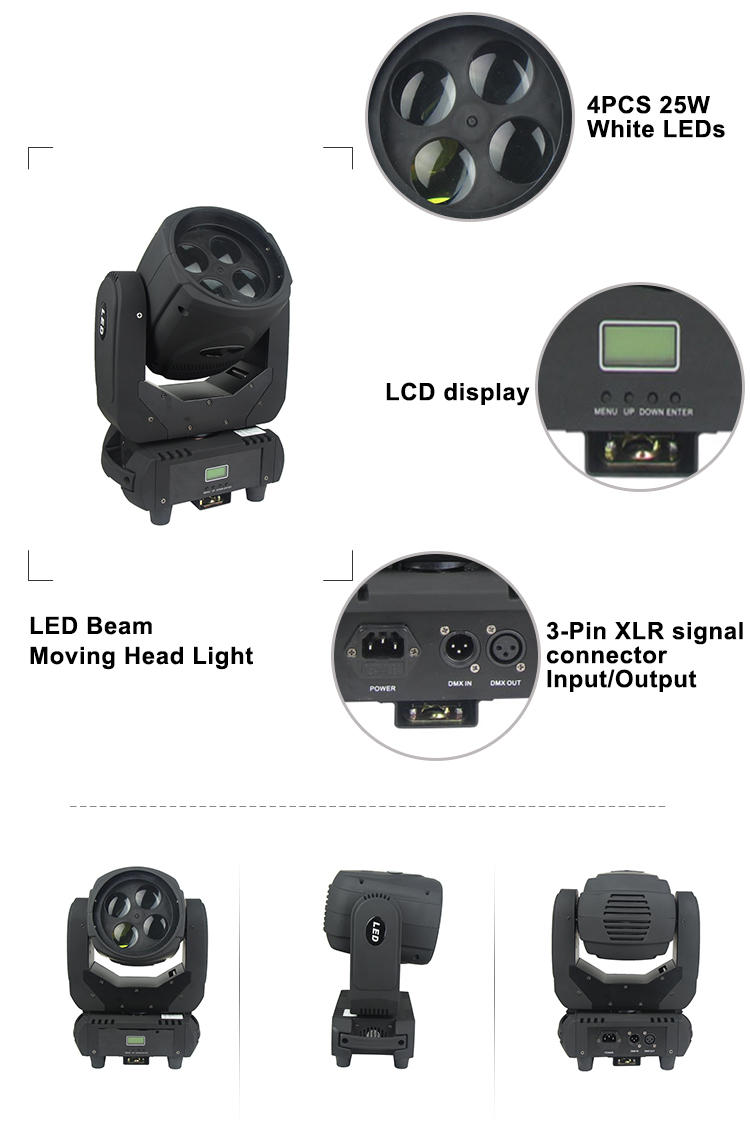 Wholesale 10w ledsl1039 dmx moving head Songlites Brand