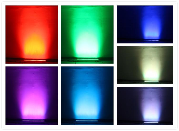 Songlites wall led outdoor landscape lighting versatility for entertainment plaza