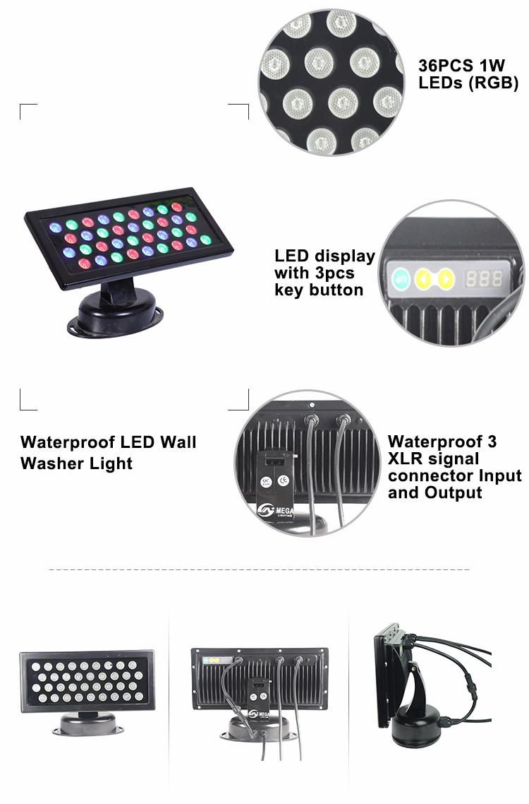 Songlites Brand outdoor washer leds 13w outdoor led wall washer