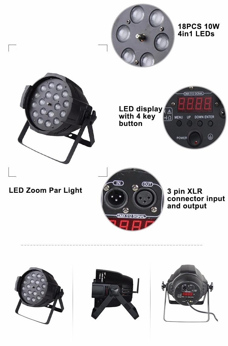 can lights for stage 10w waterproof Songlites Brand company