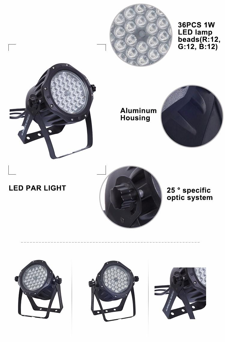 cheap outdoor led lights rgbwa for bar Songlites