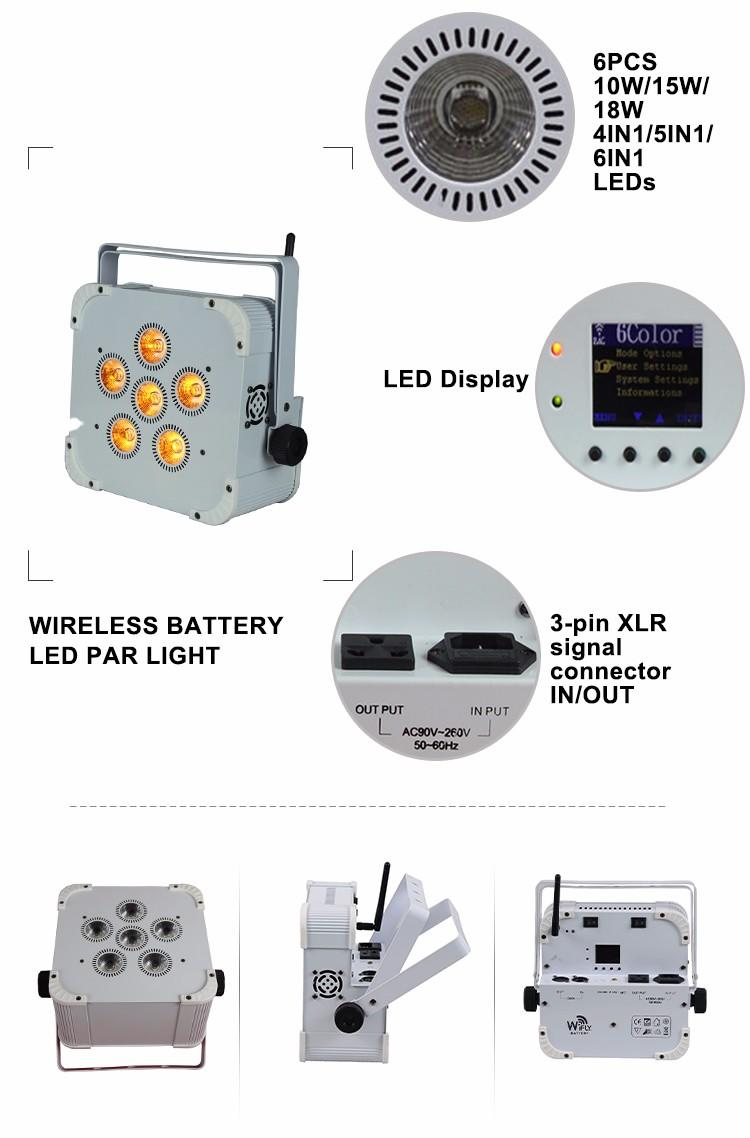 Wholesale in16 mini par can led Songlites Brand