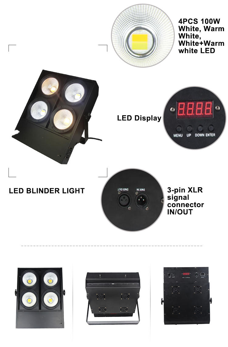 Songlites high brightness knog blinder front light blinder for exhibition show