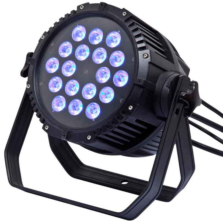 IP65 Waterproof rgbwauv 6 in 1 270W led par light SL-2010A-6IN1