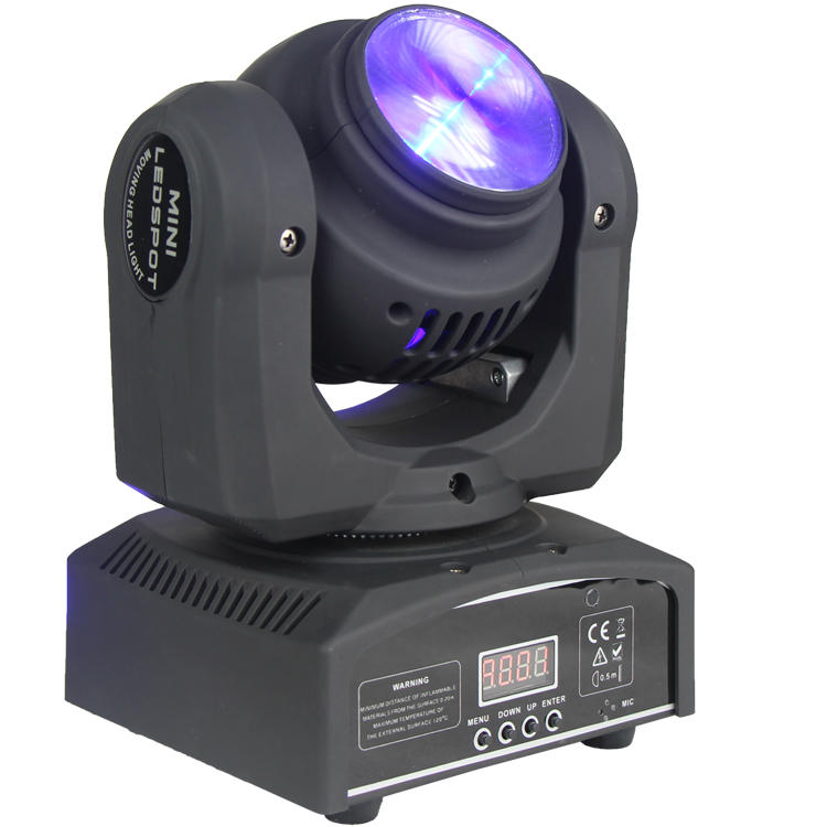 RGBW 12w Mini Two Face beam wash LED Moving Head Light SL-1033