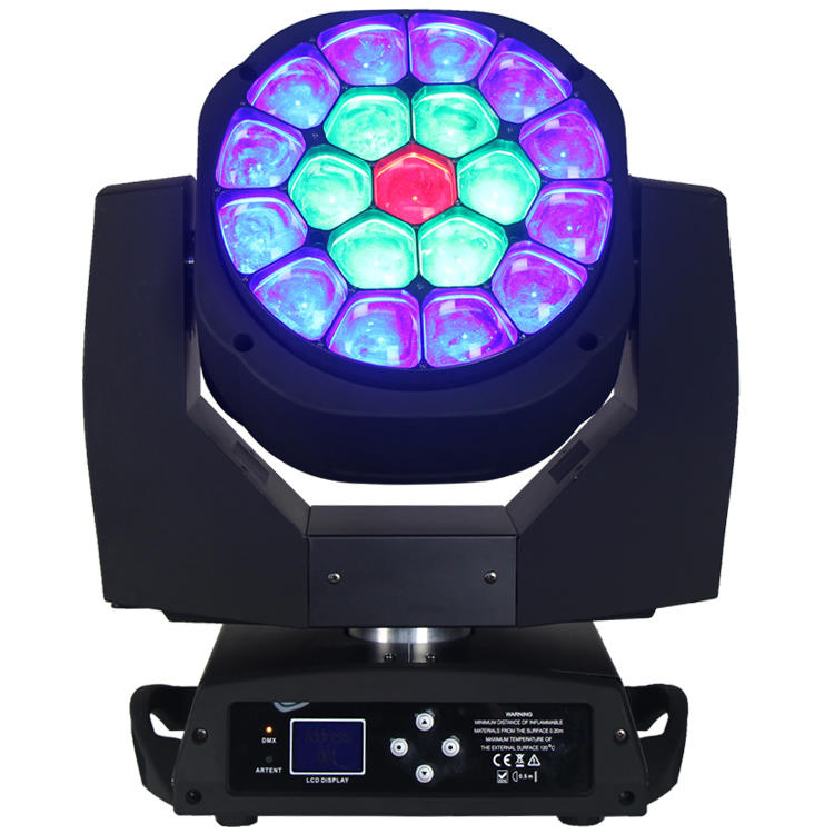 285W Intelligent RGBW Zoom Wash LED Moving Head Light  SL-1036