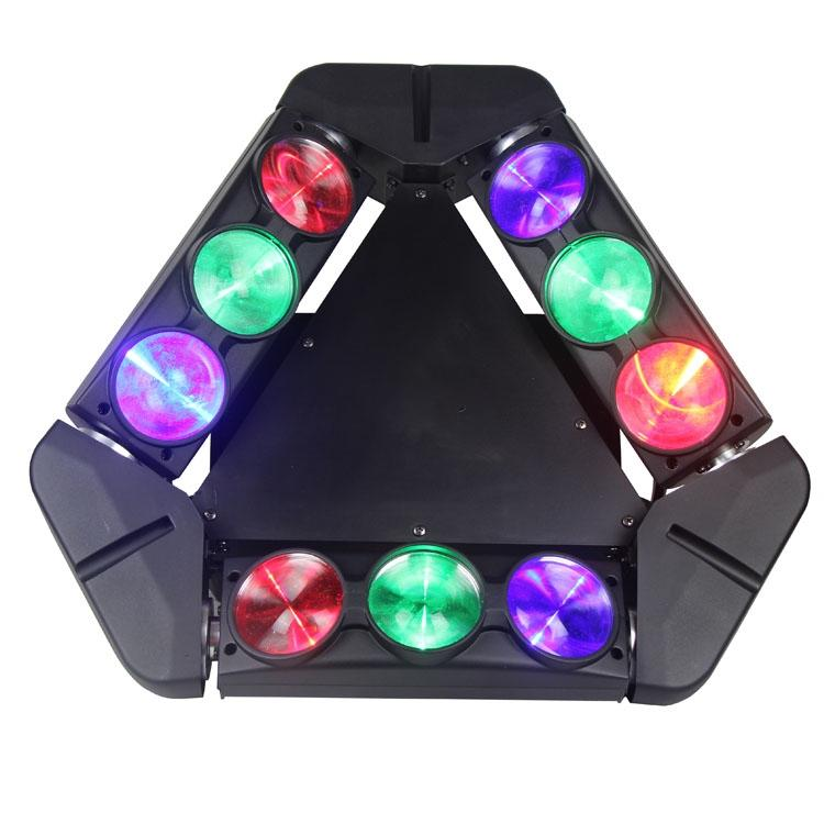 9 pcs Beam Led Beam spider 90w Moving Head Light SL-1039