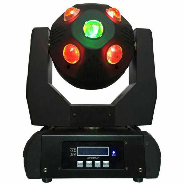 Football RGBW DMX 200W Moving Head Beam Lighting SL-1040