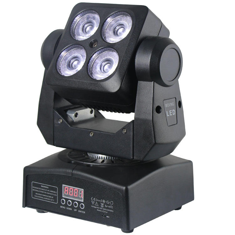 Inno pocket rgbw zoom dmx-512 mini 48 watt moving head light SL-1412