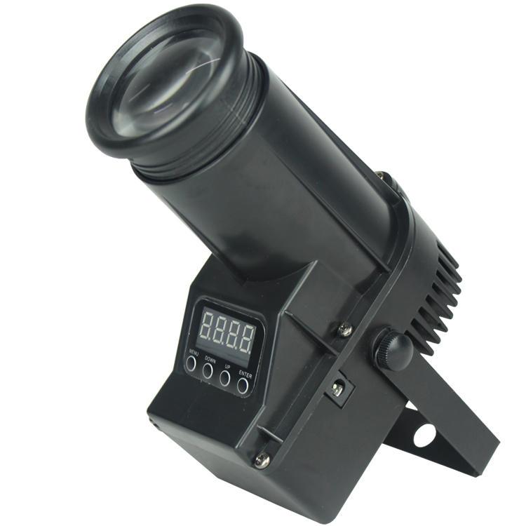 1PCS 10W 4in1/White Mini LED PIN Spot Stage Light SL-3108