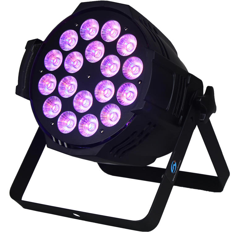 18PCS RGBWA+UV LED amber 270w LED par Stage light SL-3001B