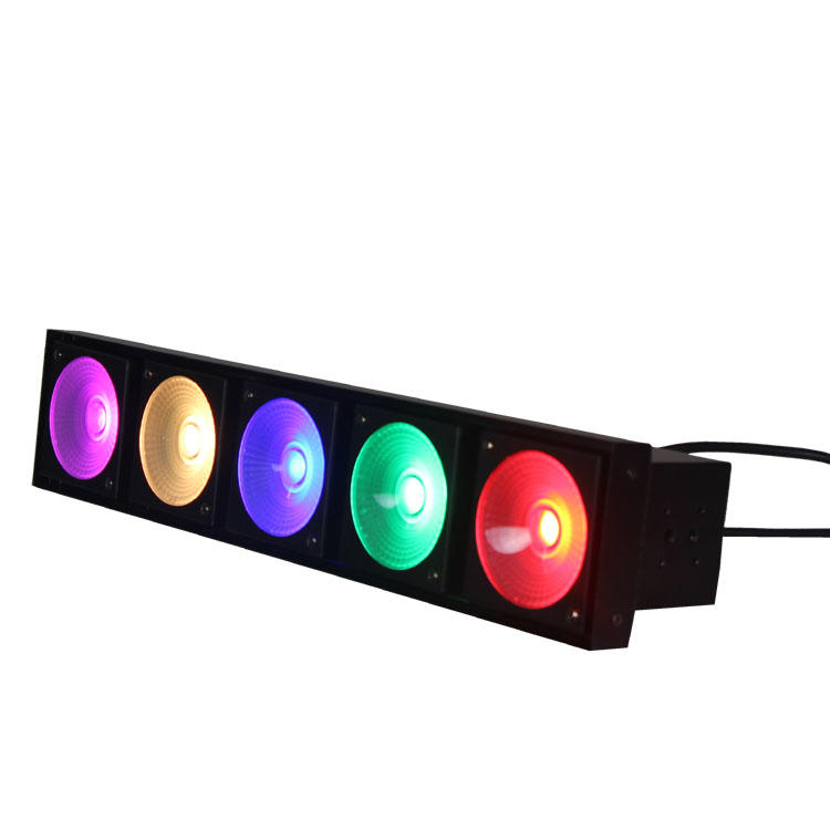 RGB 3IN1 5pcs 30W matrix LED Stage Light SL-3125B