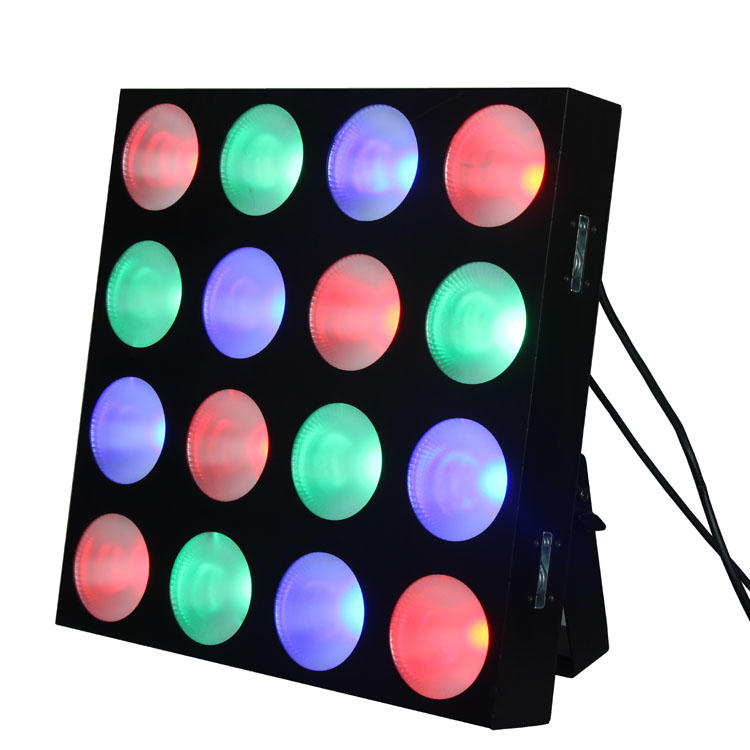 16pcs 10w 3IN1 LED matrix blinder light SL-3125C