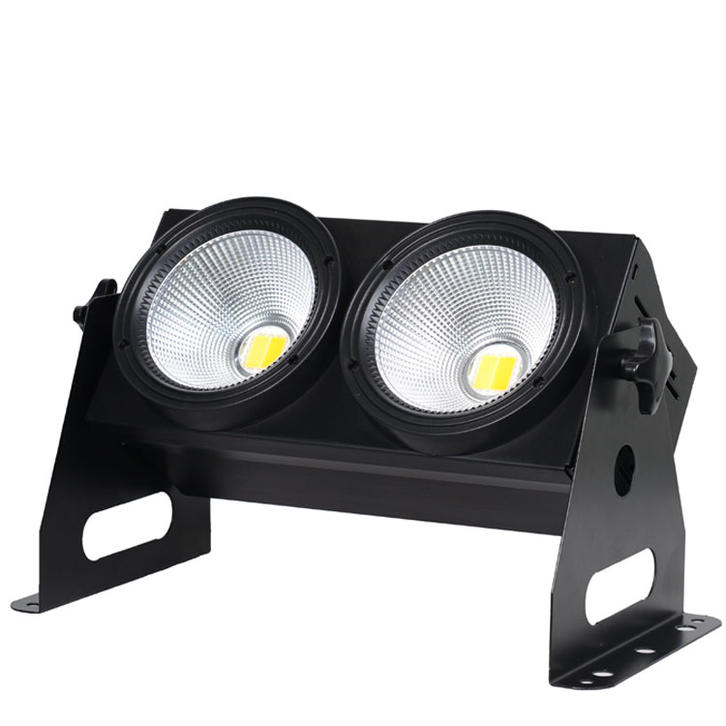 2 heads 2pcs 100W COB led stage blinder light SL-3200