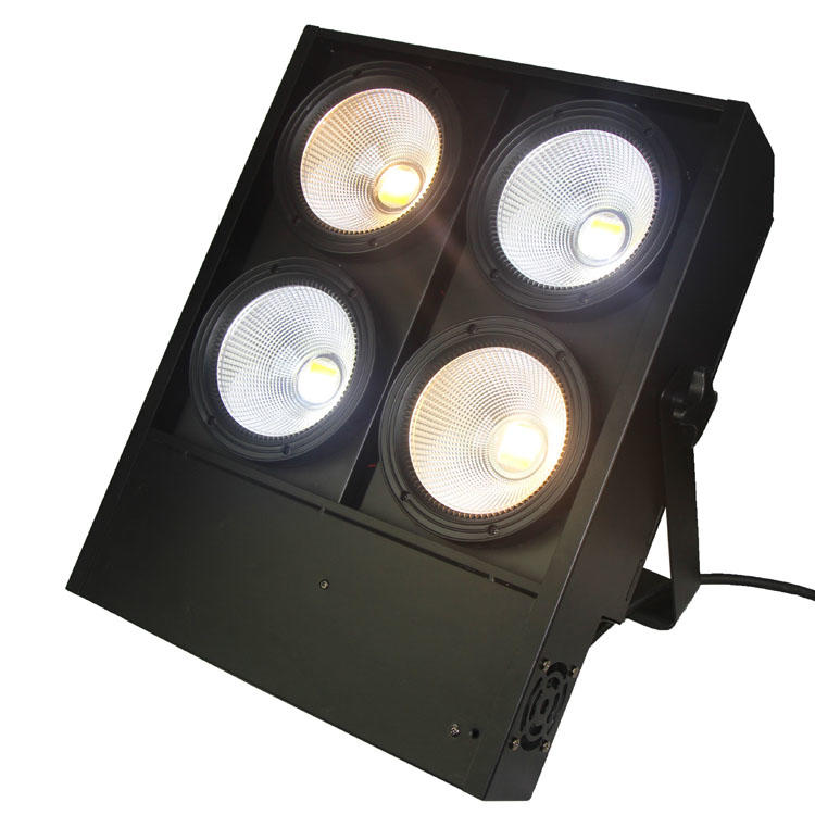 4 heads 4x100W COB led stage blinder light   SL-3400