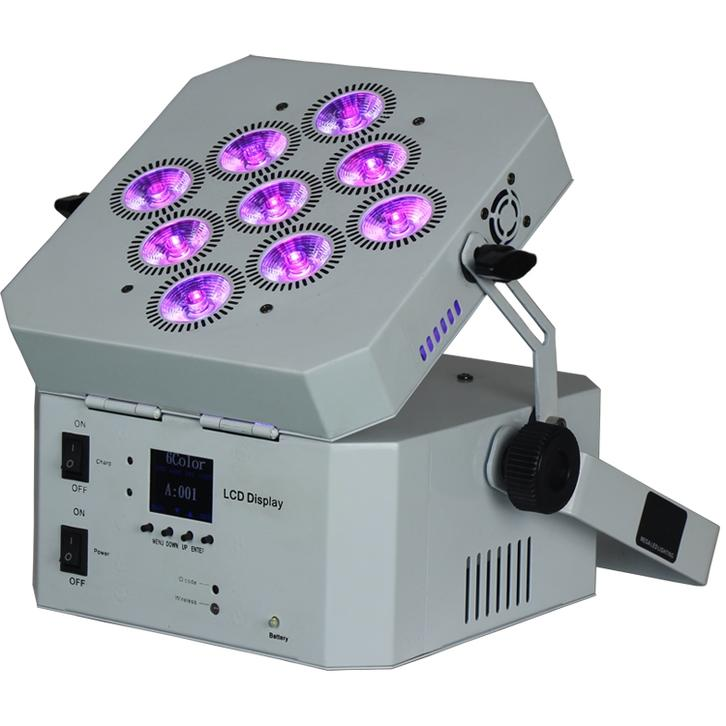 LED wireless DMX512 Stage Party Par Can Light Fixture SL-3915