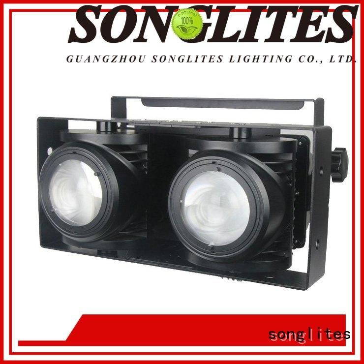 Songlites 100w knog blinder lights auto operation for band