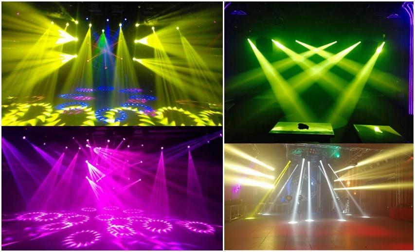 Songlites convenient led moving head beam light orientable for dance halls