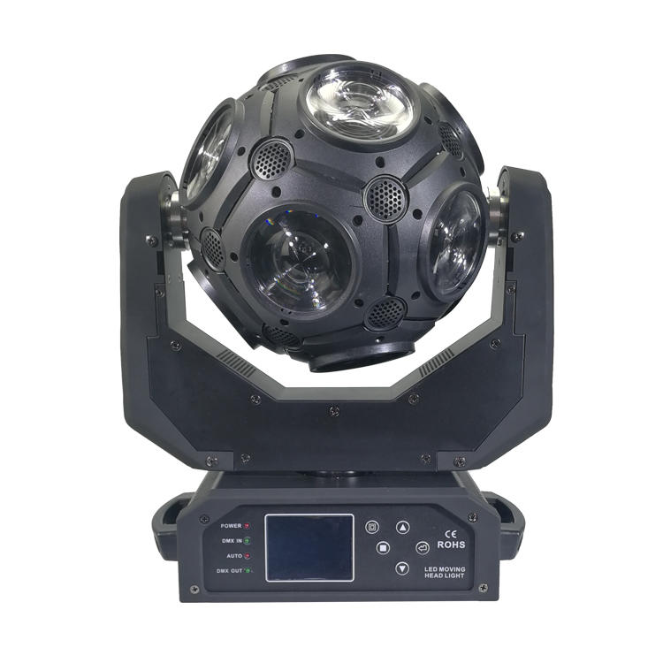 10PCS 12W RGBW 4IN1 Football Beam Moving Head Light SL-1040A