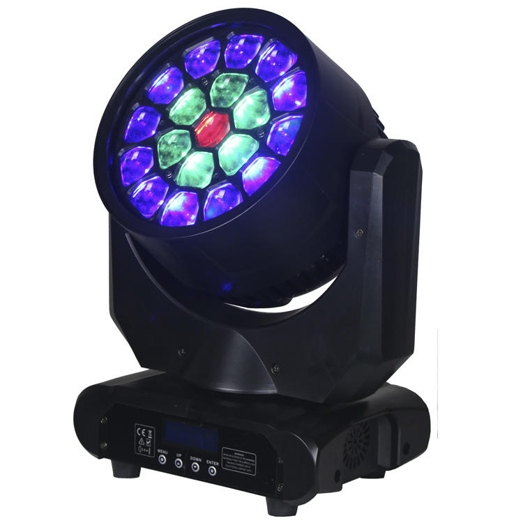Osram 19pcs 12W 4IN1 LED Beam Wash Moving Head Light