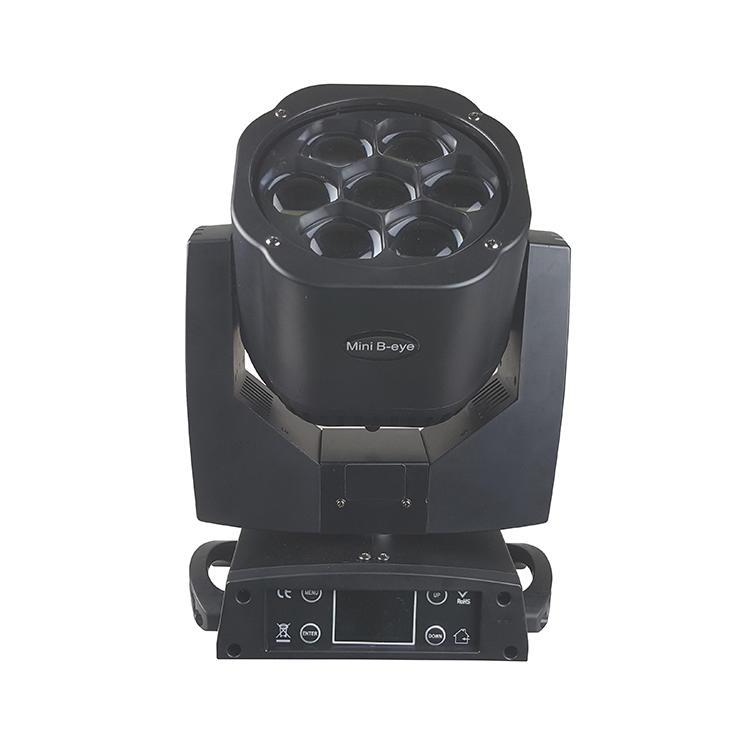 Bee Eye Moving Head Light 7PCS 15W (OSRAM OSTAR) 4in1 RGBW LED SL-1037