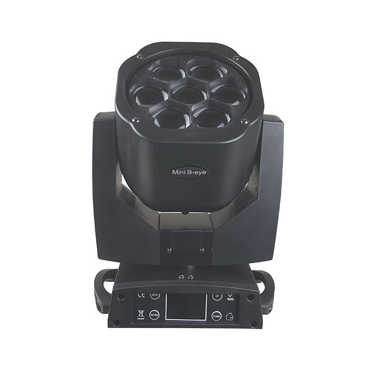 Bee Eye Moving Head Light 7PCS 15W (OSRAM OSTAR) 4in1 RGBW LED SL-1037