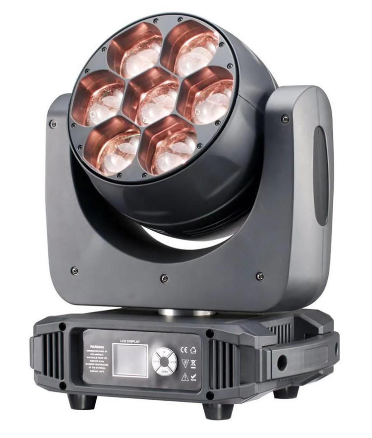 7X40W RGBW Zoom Moving Head Light SL-1740