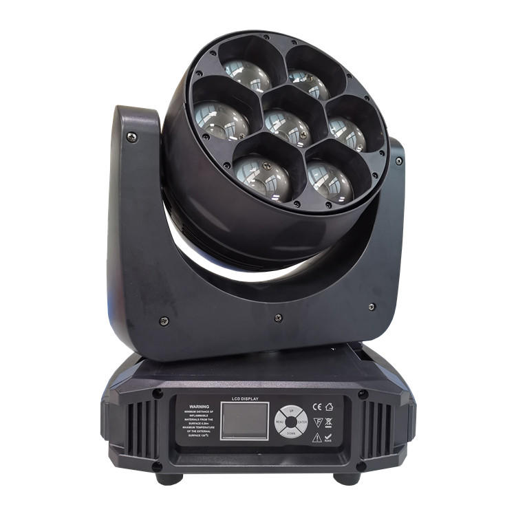 7X40W RGBW Zoom Moving Head Light SL-1740