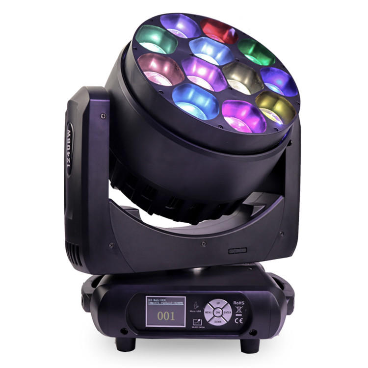 12X40W RGBW ZOOM LED Moving Head Light SL-1240