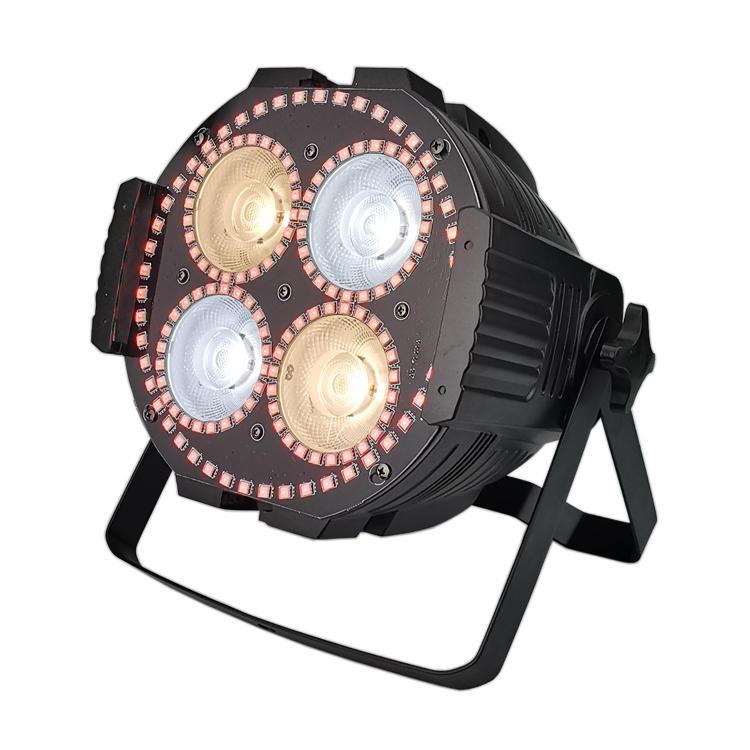Par Can 4pcs 60W 4IN1 RGBW LED Matrix Par Light  SL-3001K