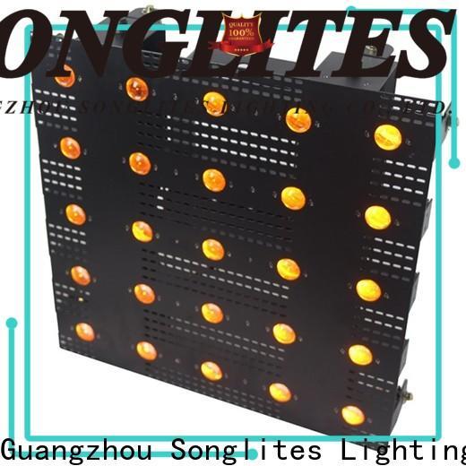 Songlites amber matrix led lights manufacturer for studios