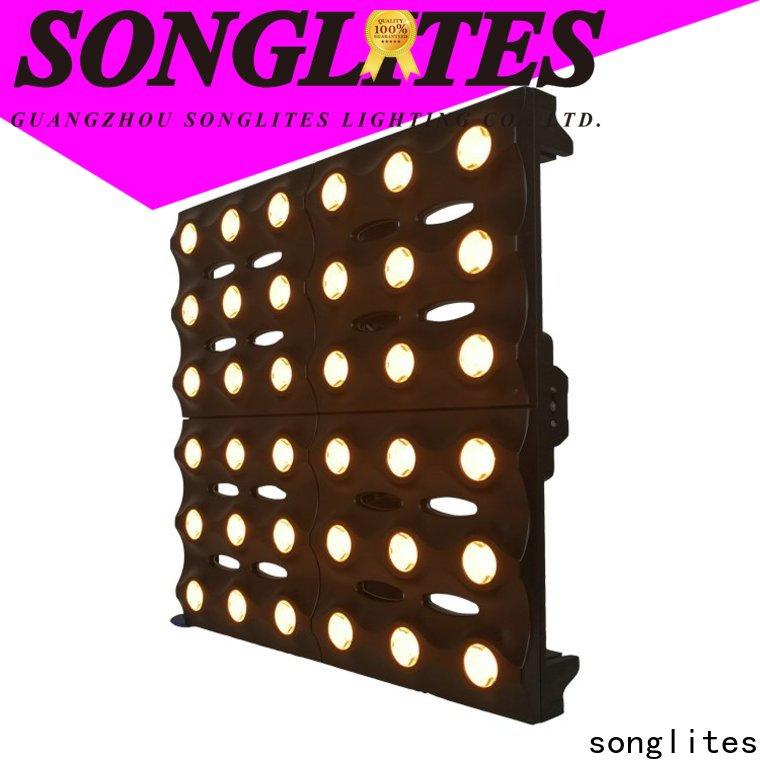Songlites adjustable professional led lights energy saving for mobile shows