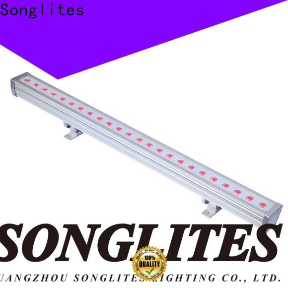 Songlites rgbw blue led outdoor lights for sale for theme parks