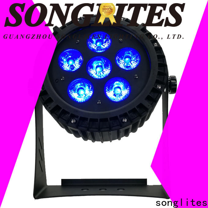 par can 64 led 6pcs with a small size, for mansion