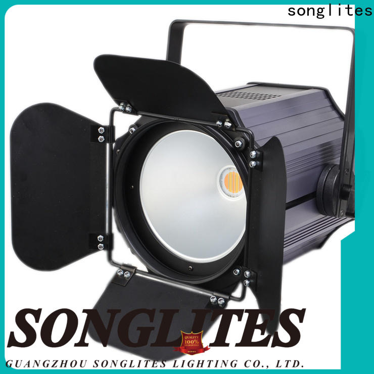 Songlites 60w100w200w par lighting fixtures with large space for concerts