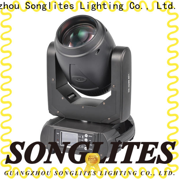 Songlites Plastic beam 200 moving head light price supplier for bands