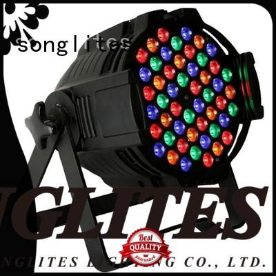 Songlites professional par led cans no flicker for stage