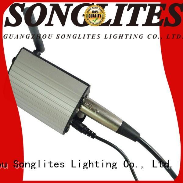 Songlites convenient wireless dmx kit high brightness for wedding