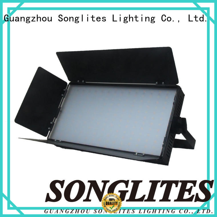 Songlites multi function square panel light energy saving for multi-purpose halls