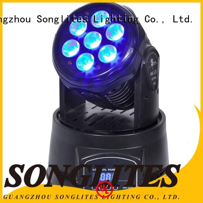 Songlites best cheap led moving head lights for photography for parties