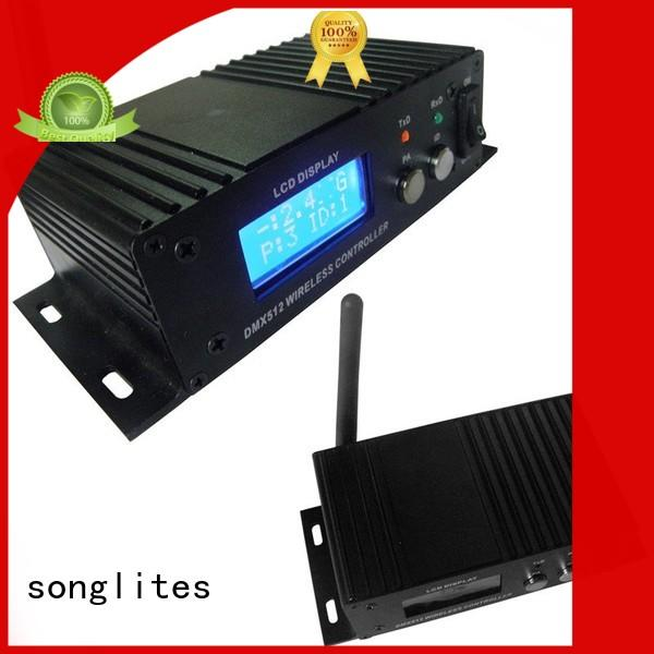 Custom light wireless dmx transceiver led Songlites