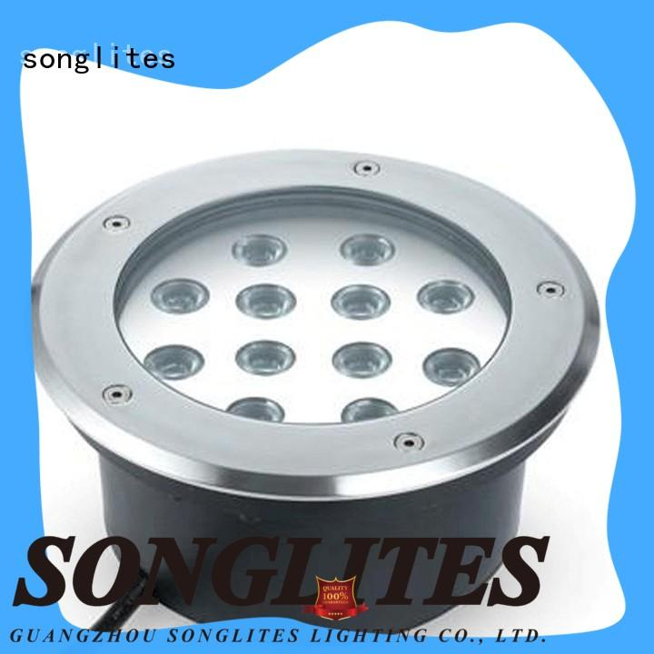 Songlites light solar underground light high brightness for meadow