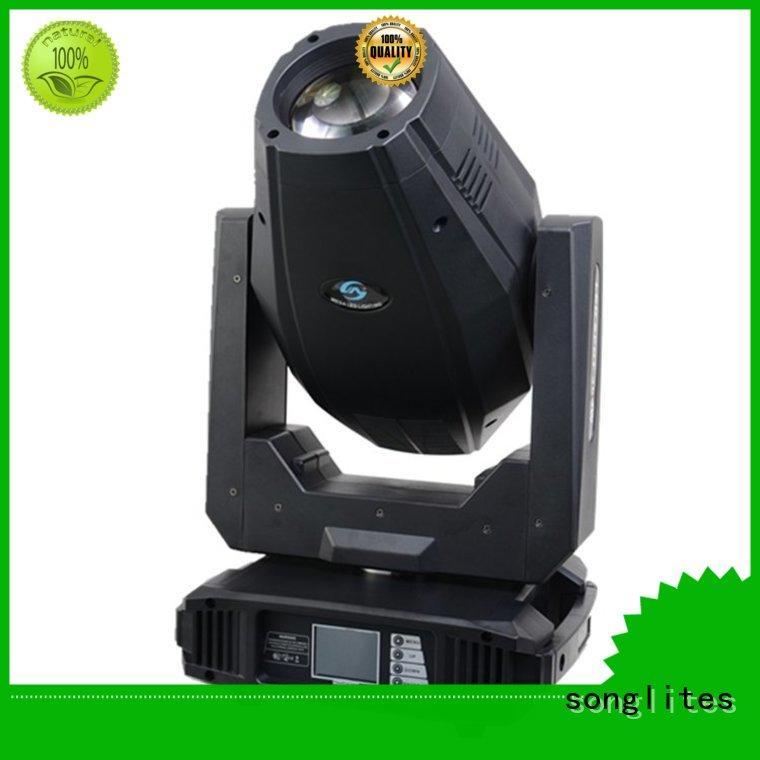 Songlites Brand 60w head moving head spot 150w supplier
