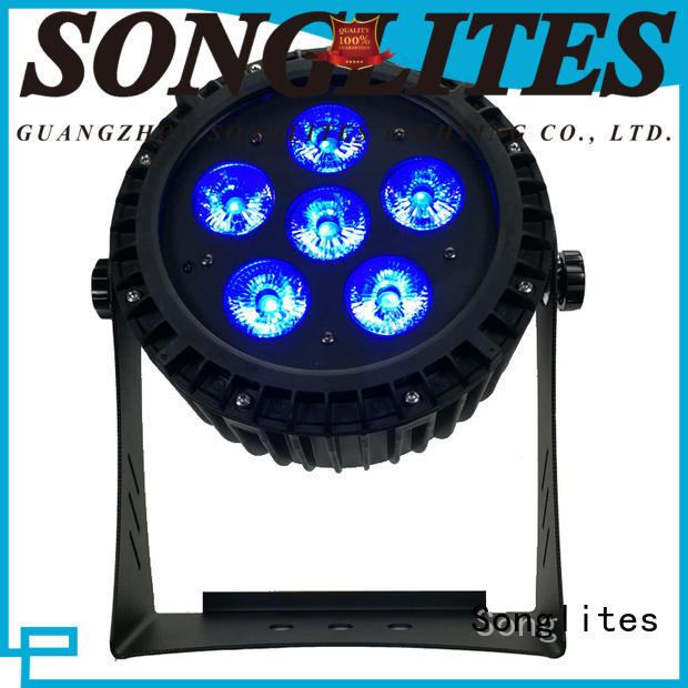 Songlites battery outdoor lighting led spotlights large battery capacity, for theme parks
